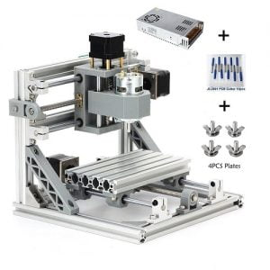 MYSWEETY CNC Machine, DIY CNC Router Kits 1610 GRBL Control Wood Carving Milling Engraving Machine