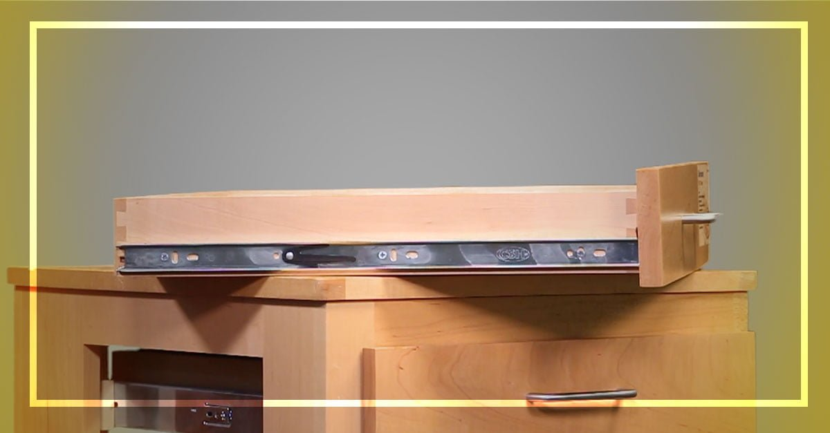 """10 Pair 22/"""" Drawer Slides Full Extension Push to Open 100 Lbs Weight Capacity"""