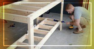 best wood for workbench frame