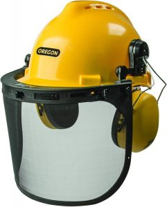 Oregon 563474 Chainsaw Safety Protective Helmet With Visor Combo Set