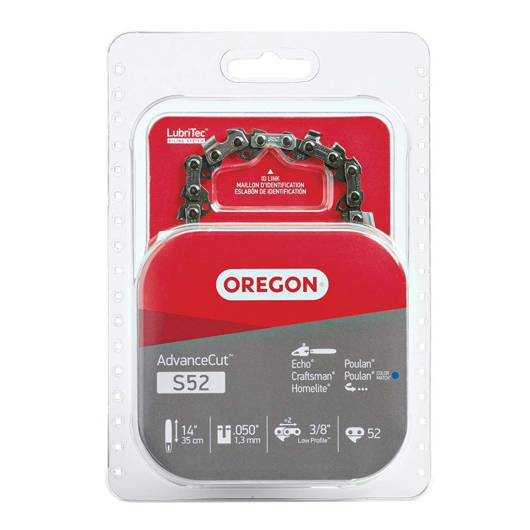 Oregon S52 AdvanceCut 14-Inch Chainsaw Chain Fits Craftsman