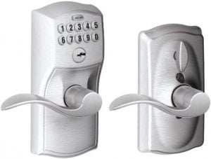Schlage FE595 CAM 626 Acc Camelot Keypad Entry with Flex-Lock