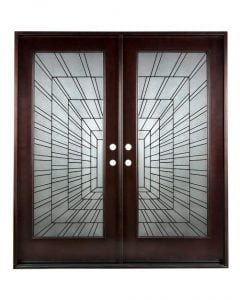 BGW Wood Exterior Front Entry Door