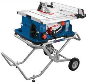 Bosch Power Tools 4100-10 Tablesaw - 10 Inch Jobsite Table Saw with 25 Inch Cutting Capacity (1)