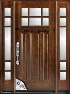 Huntington M36 Exterior Entry Wood Door