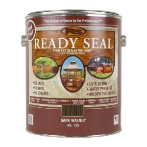 Ready Seal 125 Can Exterior Wood Stain and Sealer