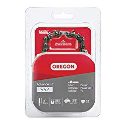 Oregon S52 Advance Cut 14-Inch Chainsaw Chain Fits Craftsman