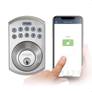 Reagle Smart Lock for Works with Siri iOS and Android
