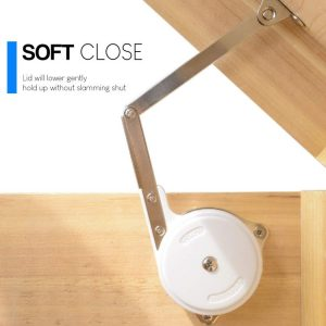 Douper Soft Close Lid Support Hinges