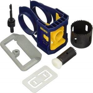 IRWIN 3111001 Door Lock Installation Kit for Wooden Doors