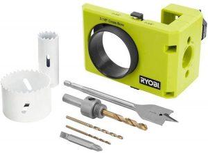 Ryobi A99DLK4 Wood and Metal Door Lock Installation Kit