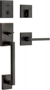 Kwikset 989180-001 Front Door Lock